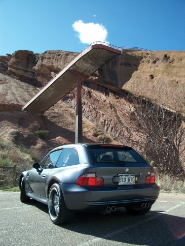 M Coupe at Red Rocks