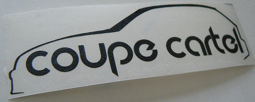 Coupe Cartel Sticker