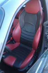 Imola Red Driver's Seat