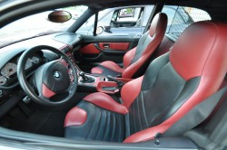 Imola Red M Coupe Interior