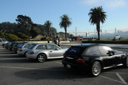 M Coupes at Treasure Island