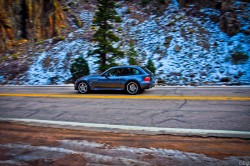 2002 Steel Gray BMW M Coupe in Poudre Canyon