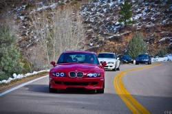 BMW M Coupes on Stove Prairie Road