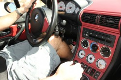 BMW M Coupe Imola Red and Black Interior
