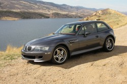 Steel Gray over Imola Red BMW M Coupe Horsetooth Reservoir