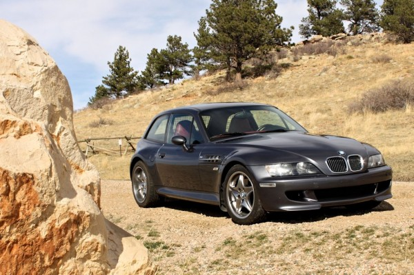 2002 Steel Gray over Imola Red BMW M Coupe