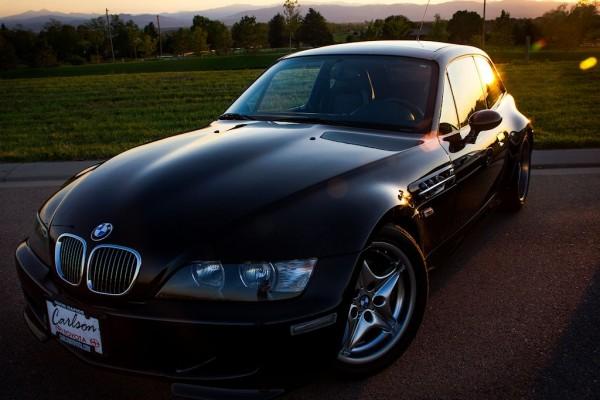 2001 Black Sapphire over Black BMW M Coupe