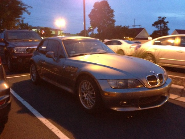 BMW Z3 Coupe in Sterling Gray