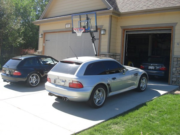 BMW M Coupes in the Driveway